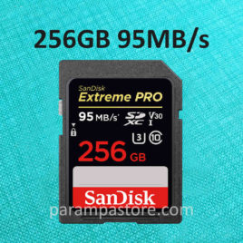 Memory Card Sandisk EXTREME PRO SD Card SDXC UHS-I Class 10 256GB 95MB/s