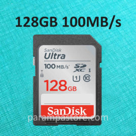 Memory Card Sandisk Ultra SD Card SDXC UHS-I Class 10 128GB 100MB/s