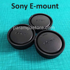 Tutup Body Kamera Lensa Belakang / Rear Body Cap Sony E-mount
