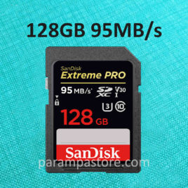 Memory Card Sandisk EXTREME PRO SD Card SDXC UHS-I Class 10 128GB 95MB/s