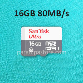Memory Card Sandisk Ultra MicroSD ( Micro SD ) SDHC UHS-I Class 10 16GB 80MB/s
