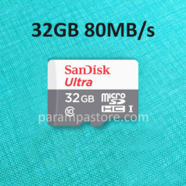 Memory Card Sandisk Ultra MicroSD ( Micro SD ) SDHC UHS-I Class 10 32GB 80MB/s