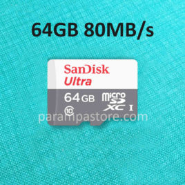 Memory Card Sandisk Ultra MicroSD ( Micro SD ) SDXC UHS-I Class 10 64GB 80MB/s